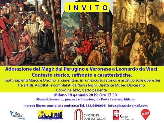 Adorazione dei Magi: dal Perugino e Veronese a Leonardo da Vinci